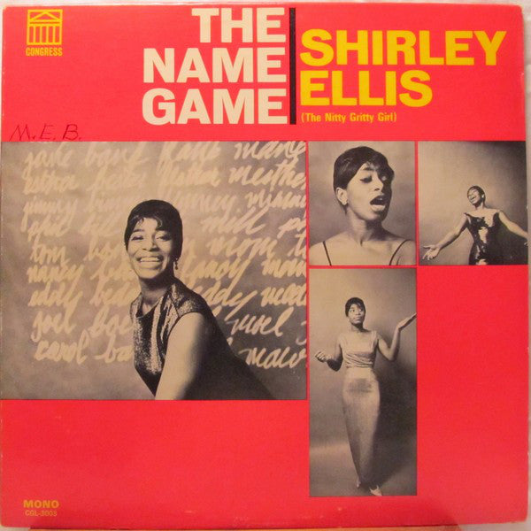 Shirley Ellis (The Nitty Gritty Girl) ‎– The Name Game