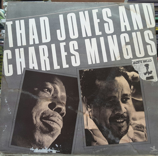 Thad Jones, Charles Mingus ‎– Thad Jones & Charles Mingus