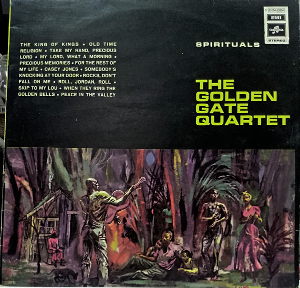 The Golden Gate Quartet ‎– Spirituals