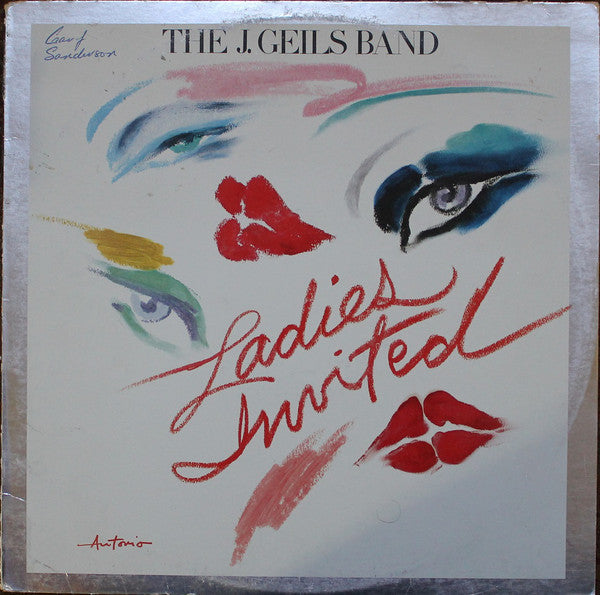 The J. Geils Band ‎– Ladies Invited