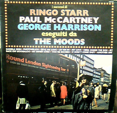 The Moods  ‎– I Successi Di Ringo Starr, Paul McCartney & George Harrisson