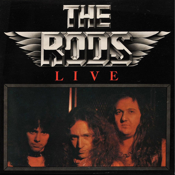 The Rods ‎– Live