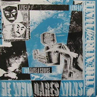 Theatre Of Hate ‎– He Who Dares Wins (Live LP - You Have A Choice)