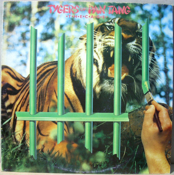 Tygers Of Pan Tang ‎– The Cage