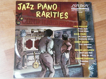 Various ‎– Jazz Piano Rarities - 10""