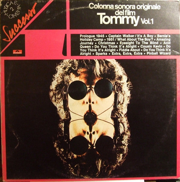 Various ‎– Tommy Vol. 1 (Colonna Sonora Originale Del Film)