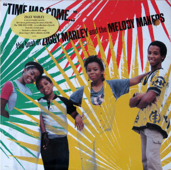 Ziggy Marley And The Melody Makers ‎– Time Has Come... - The Best Of Ziggy Marley And The Melody Makers