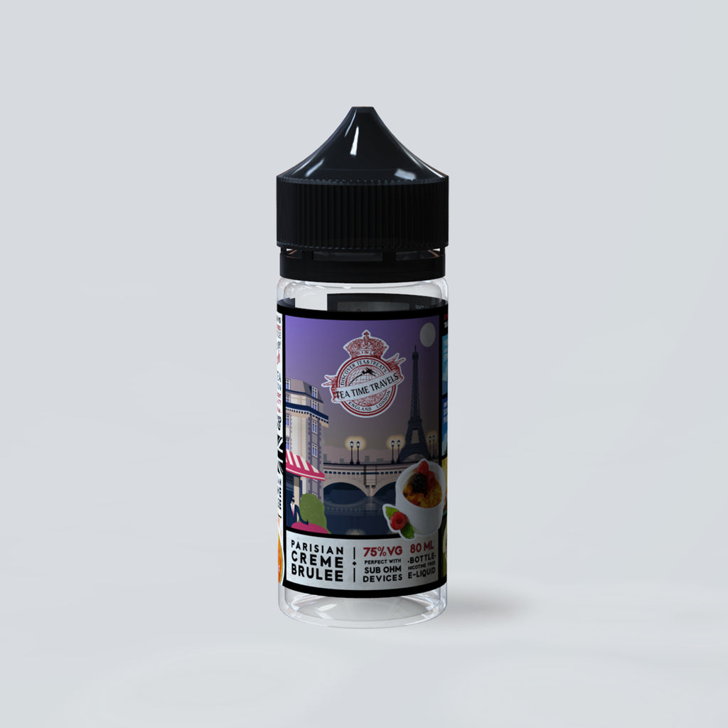 Parisian Creme Brulee (80ml Shortfill)