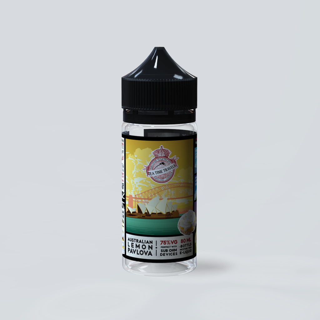 Australian Lemon Pavlova Vape eLiquid (80ml Shortfill)