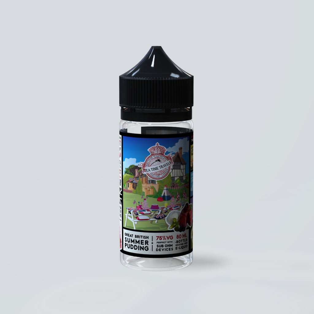 Great British Summer Pudding (80ml Shortfill)