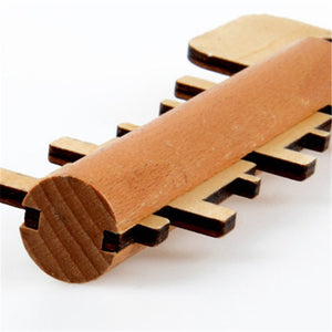 Wooden Educational Key Toy