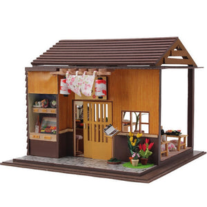 DIY Wooden Doll House - Sushi Bar