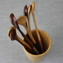 Long Wooden Teaspoons