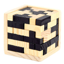 Wooden Magic Cube Puzzle
