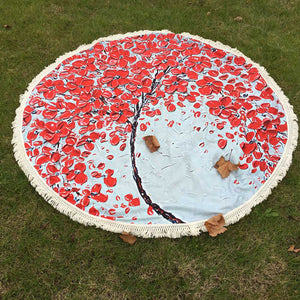 Stunning Round Blossom Tapestry - four beautiful styles