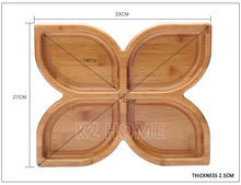 Bamboo Candy Plate - two styles
