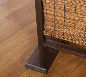 Wood & Bamboo Divider Screen