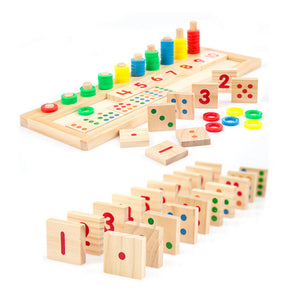 Wooden Counting Game