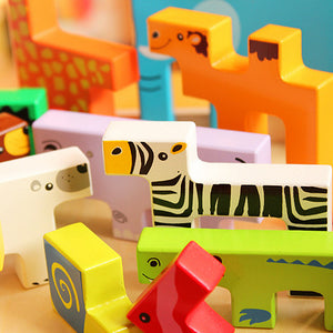 Wooden Educational Animal Puzzle