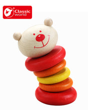 Classic World Wooden Rattle Tumbler