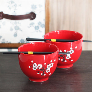 Red Blossom Noodle Bowls