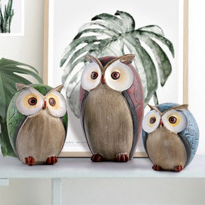 Rustic Owl Ornaments - four designs available