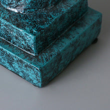 Abstract Resin Deep Thinking Ornament - two colours available