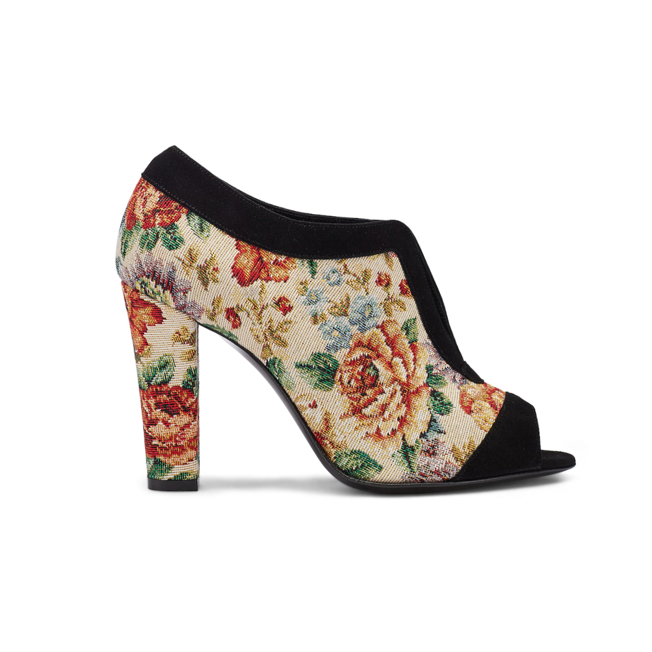 Intramontabile Footwear - Peeptoes VIRGINIE floral