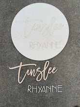 DIY Personalized Name Round Kit