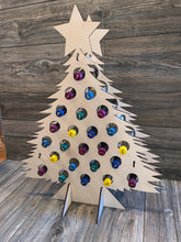 Christmas Advent Wine Countdown Tree