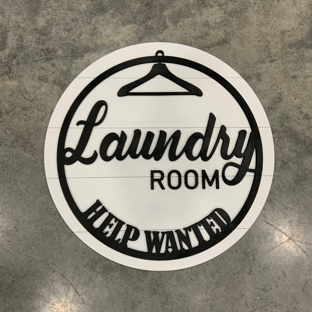 Laundry Help Wanted DIY