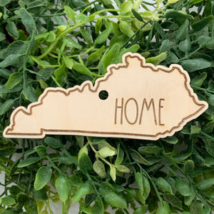 "State ""home"" Christmas Ornament- all states available"