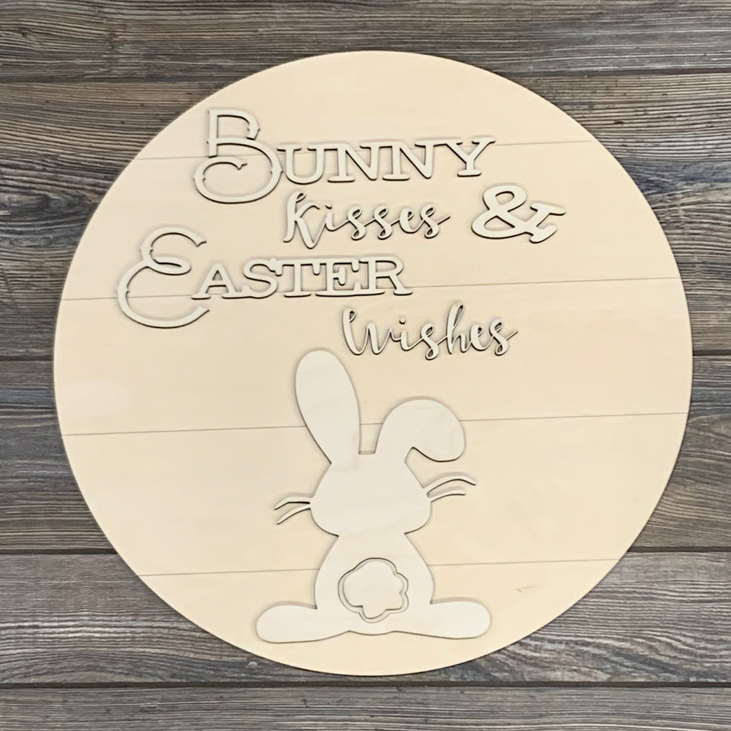 Bunny Kisses/Easter Wishes- DIY