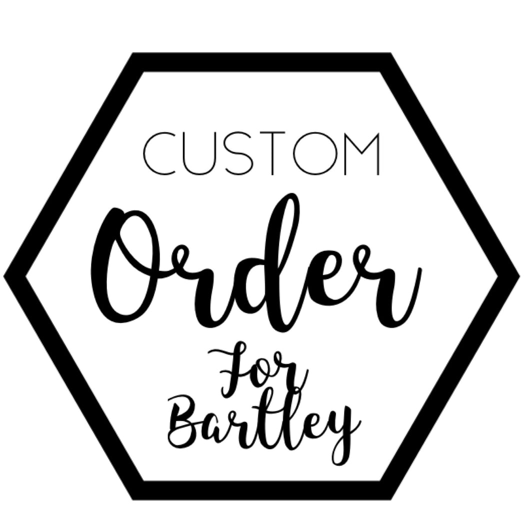 Custom for Bartley
