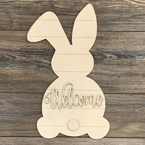 Easter Bunny/Welcome- DIY