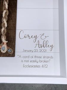 Cord of Three Strands-Personalized