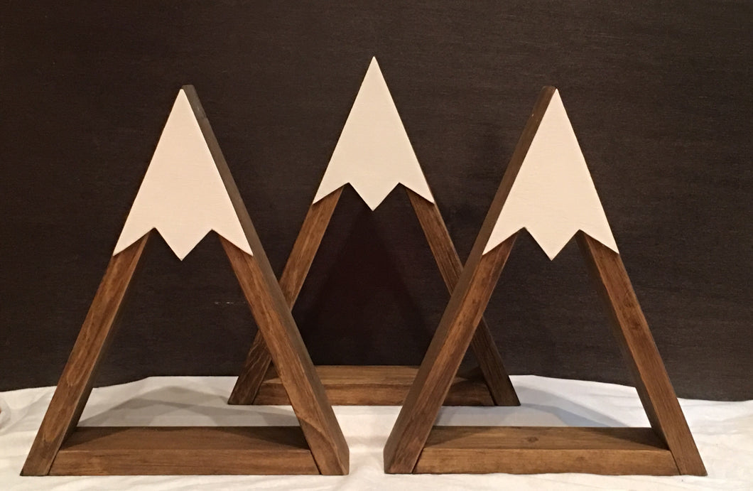 Set of 3 Mountain Shelves