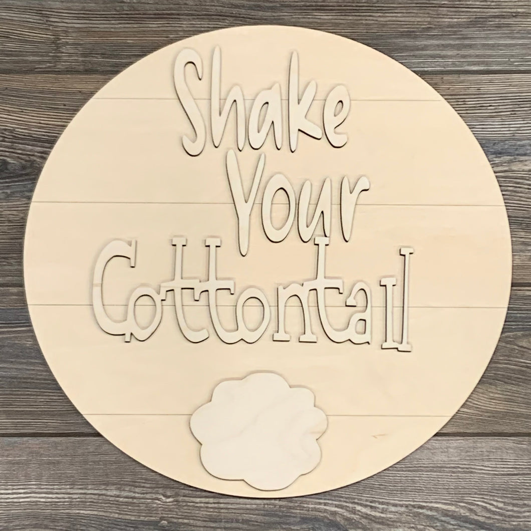 Shake your cottontail- DIY