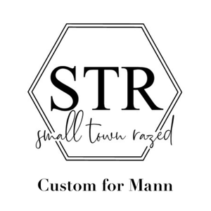 Custom for Mann