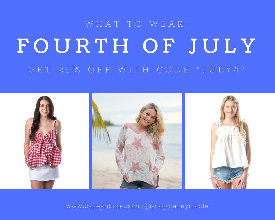 What to Wear: Fourth of July