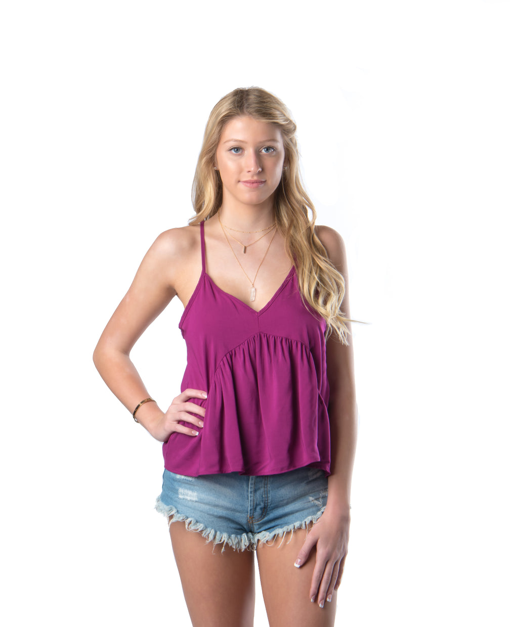 Baby Doll Tank | Purple