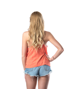 Baby Doll Tank | Coral