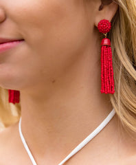 Beaded Earrings - Spring Fashion