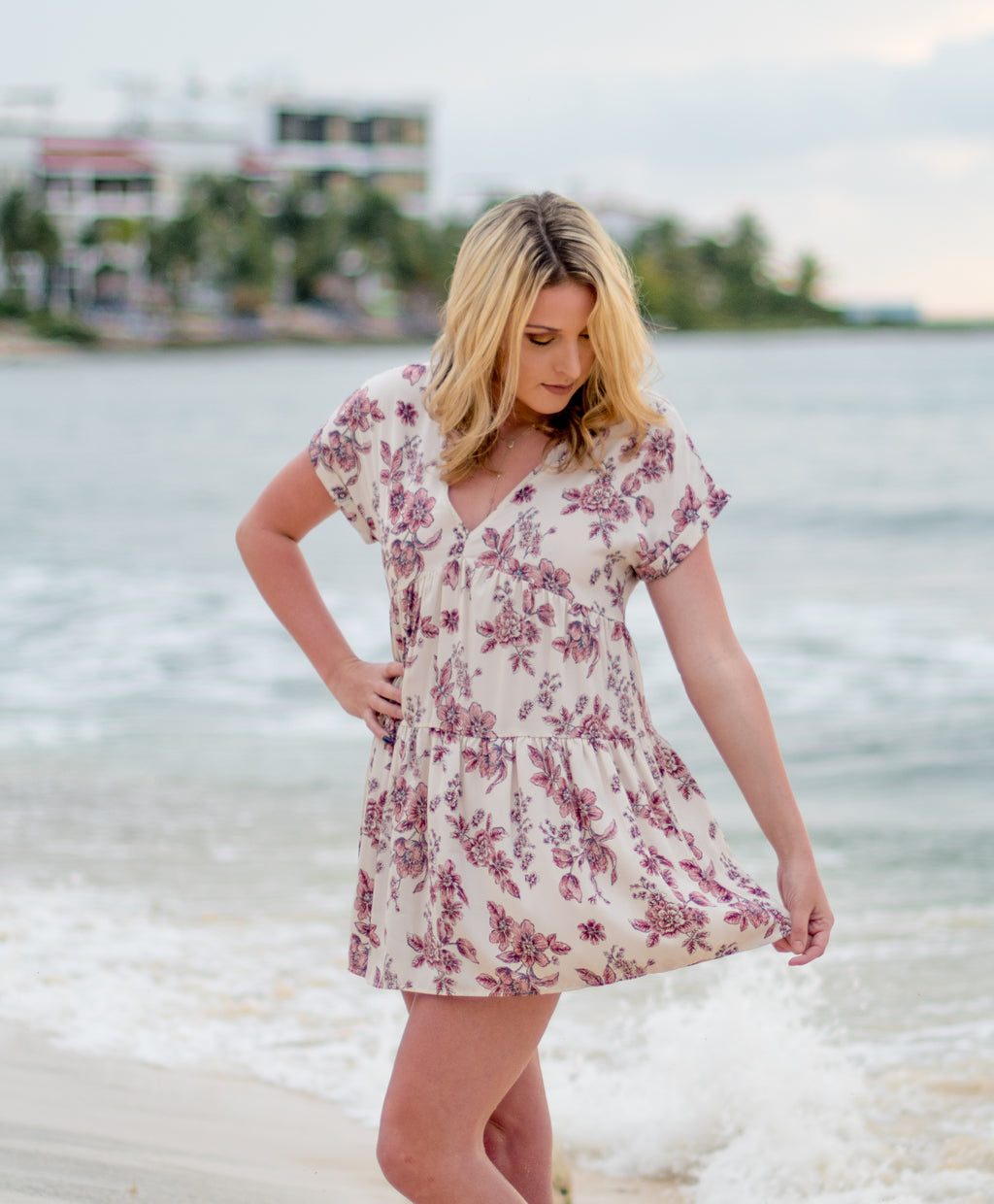 Night in Tulum Dress