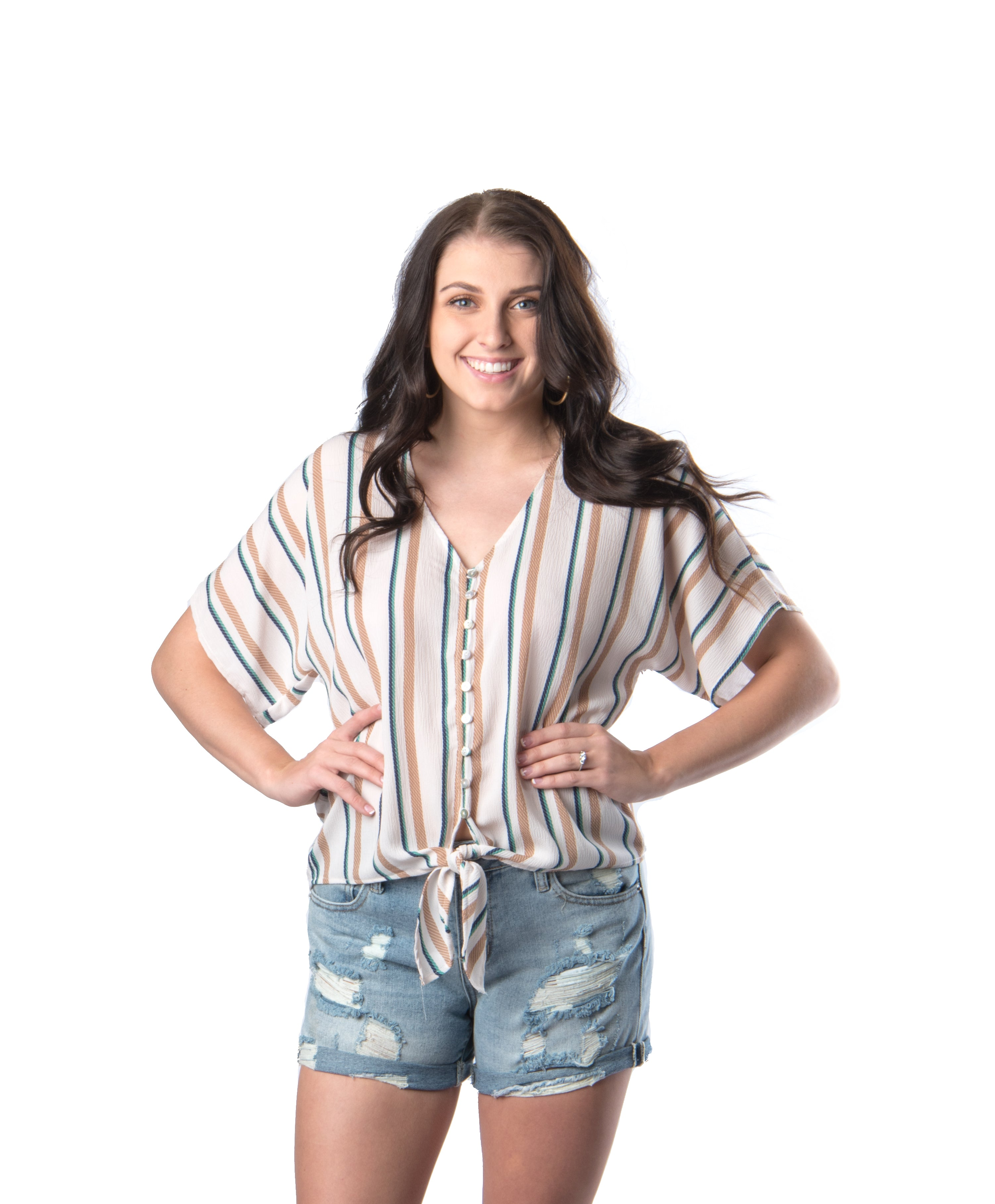 Into The Dunes Top | Summer Fashion | Campus Life | Bailey Nicole