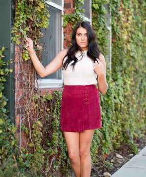 Never Enough Skirt | Fall Fashion | Bailey Nicole