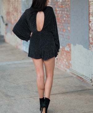 No Comment Romper | Night Out | Holiday Wear | Bailey Nicole