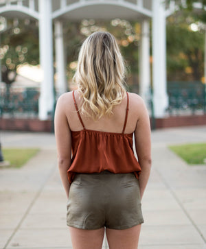 The Royals | Burnt Orange | Game Day | Fall Fashion | Bailey Nicole