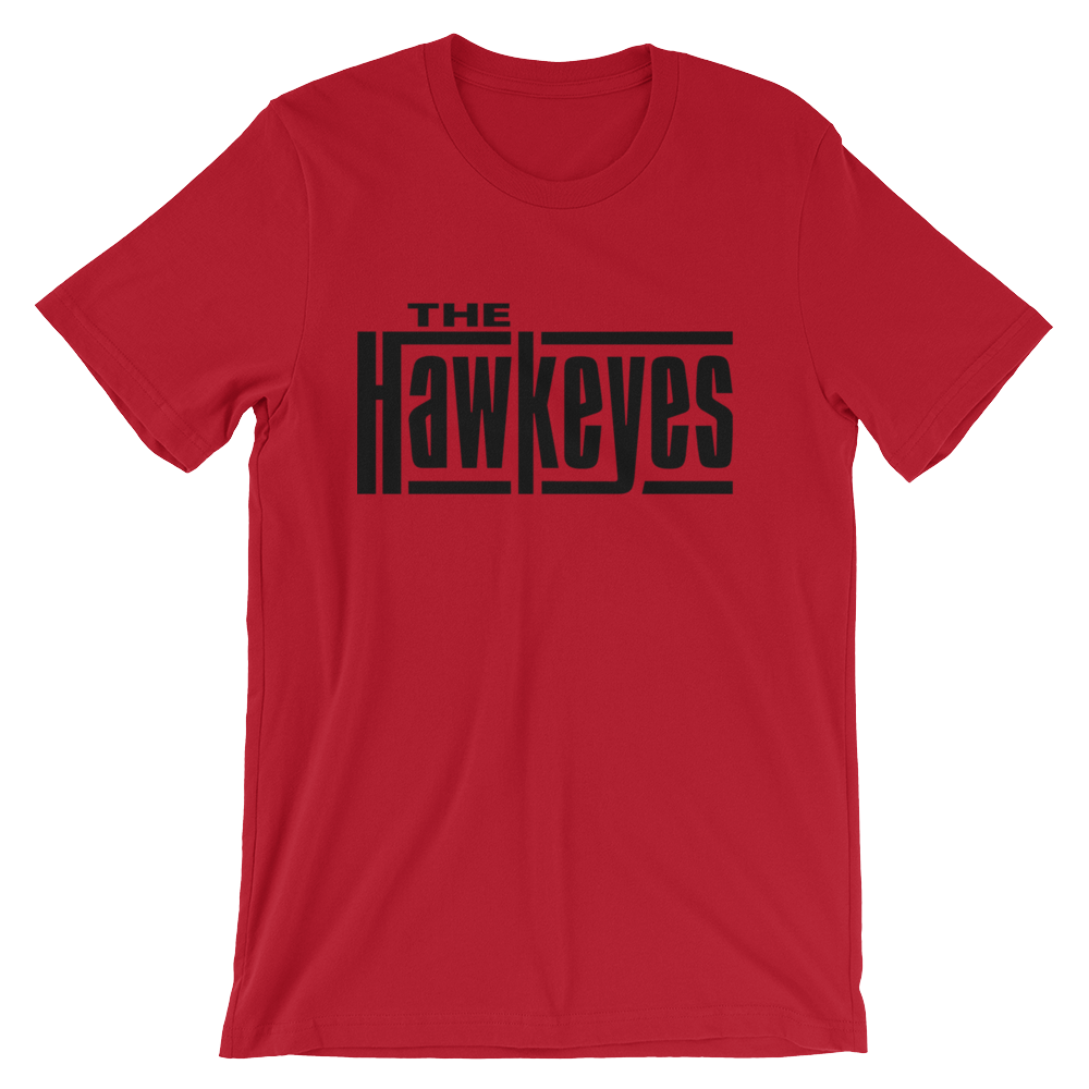 Hawkeyes Rama Red Unisex T-Shirt