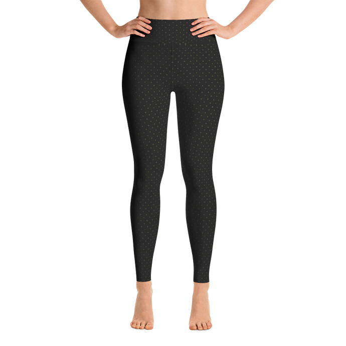 Tiny Crowns Yoga Leggings